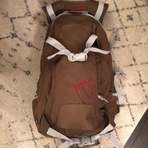 Brown burton backpack 🎒